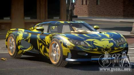 Koenigsegg CCRT Sport PJ1 para GTA 4