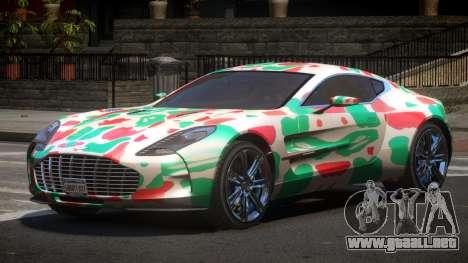 Aston Martin One-77 LS PJ5 para GTA 4