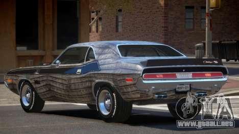 1972 Dodge Challenger RT PJ5 para GTA 4