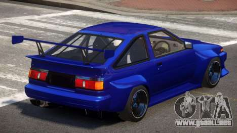 Toyota Corolla GT S-Tuning para GTA 4