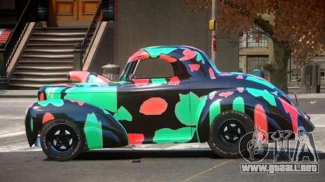 Willys Coupe 441 PJ5 para GTA 4