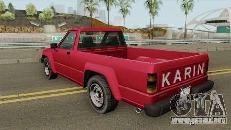 Karin Rebel Sport GTA IV para GTA San Andreas