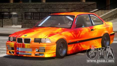BMW M3 E36 R-Tuned PJ3 para GTA 4