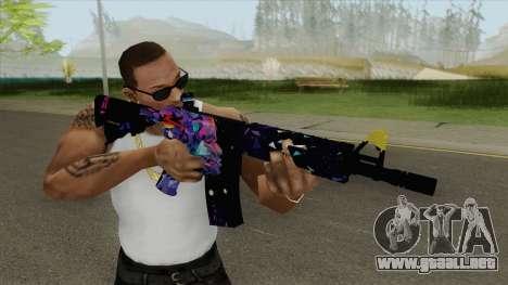 M4A4 (Glass Queen) para GTA San Andreas