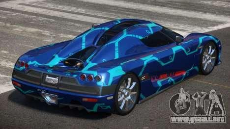Koenigsegg CCX S-Tuned PJ2 para GTA 4