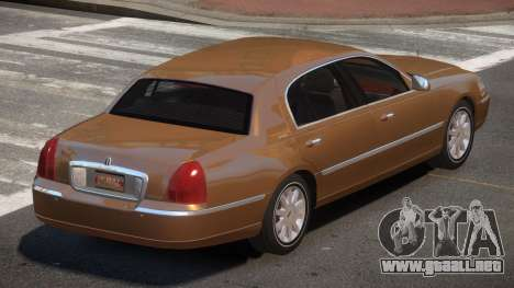 Lincoln Town Car V1.1 para GTA 4