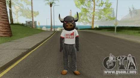 Big Bull Mascot (Dead Rising 3) para GTA San Andreas