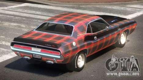 1972 Dodge Challenger RT PJ4 para GTA 4