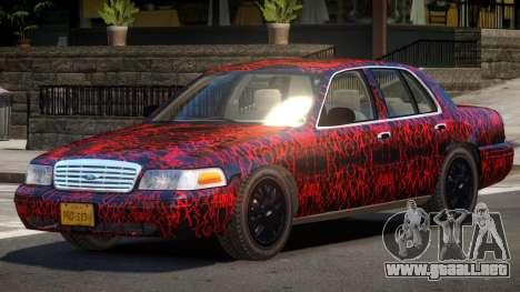 Ford Crown Victoria CL PJ1 para GTA 4