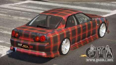 Nissan Skyline R34 SRS PJ4 para GTA 4