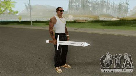 Trunks Sword para GTA San Andreas