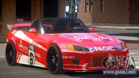 Honda S2000 D-Style PJ4 para GTA 4