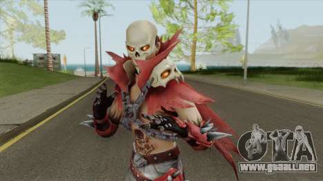Fire Skeleton (Free Fire) para GTA San Andreas