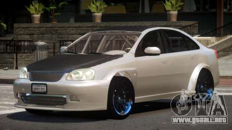 Chevrolet Lacetti R-Tuning para GTA 4
