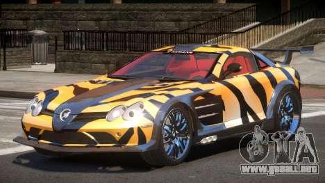 Mercedes Benz SLR H-Style PJ5 para GTA 4