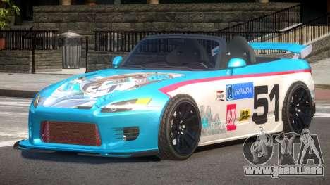 Honda S2000 D-Style PJ5 para GTA 4