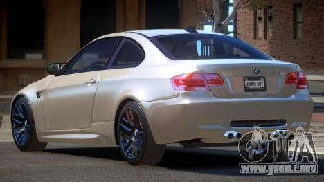 BMW M3 E92 LR para GTA 4