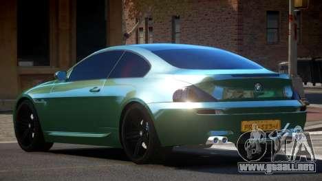 BMW M6 F12 SE V1.2 para GTA 4