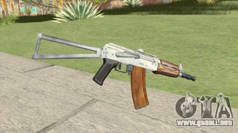 AK47 (Silver) para GTA San Andreas