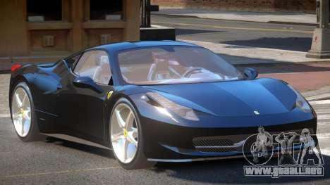 Ferrari 458 JF para GTA 4