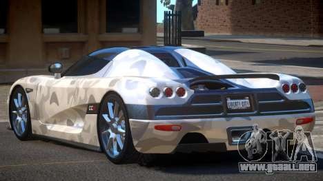 Koenigsegg CCX S-Tuned PJ4 para GTA 4