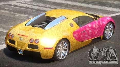 Bugatti Veyron 16.4 RT PJ6 para GTA 4