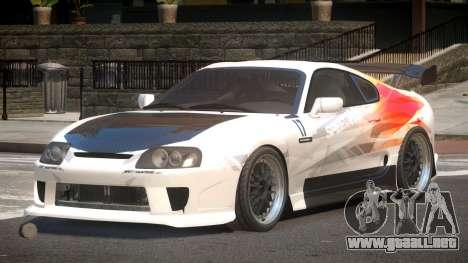 Toyota Supra SR PJ5 para GTA 4