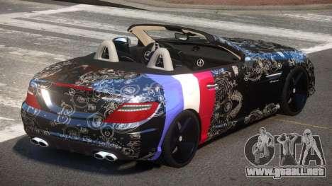 Mercedes Benz SLK DDS PJ4 para GTA 4