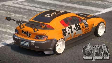 Mazda RX8 S-Tuned PJ1 para GTA 4