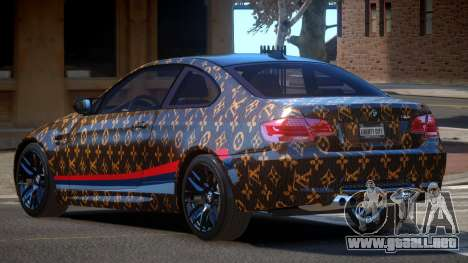 BMW M3 E92 LR PJ1 para GTA 4