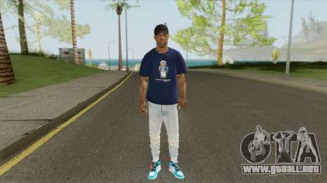David West para GTA San Andreas