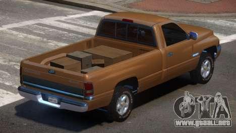 Dodge Ram 2500 Old para GTA 4