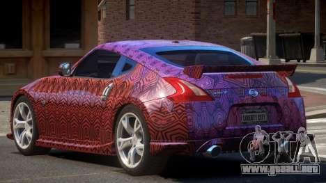 Nissan 370Z SR PJ5 para GTA 4