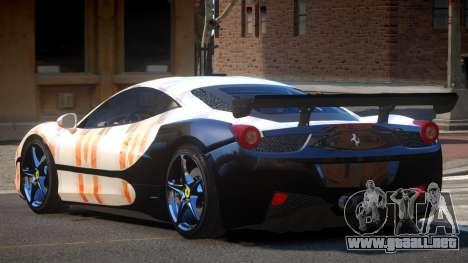 Ferrari 458 SRI-37 PJ1 para GTA 4