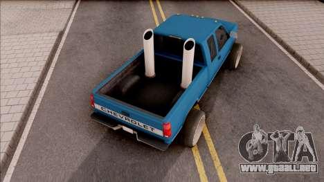 Chevrolet Silverado 1992 Lifted para GTA San Andreas