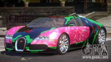 Bugatti Veyron 16.4 RT PJ5 para GTA 4