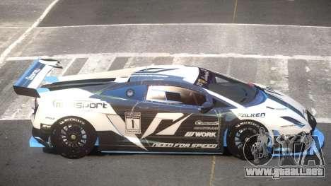Lamborghini Gallardo LP560 SR PJ2 para GTA 4