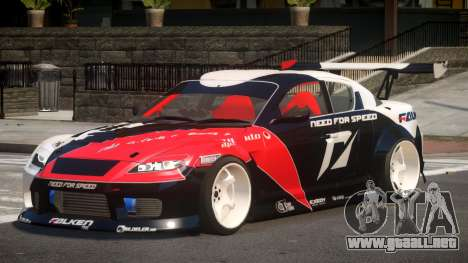 Mazda RX8 S-Tuned PJ2 para GTA 4