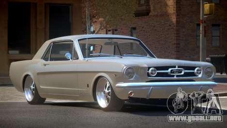 1963 Ford Mustang SR para GTA 4