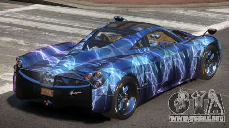 Pagani Huayra GBR PJ2 para GTA 4