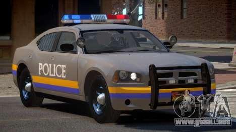 Dodge Charger City Police para GTA 4