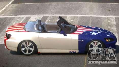 Honda S2000 SR PJ3 para GTA 4