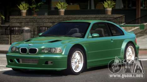 BMW E46 M3 R-Tuning para GTA 4