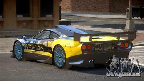 McLaren F1 G-Style PJ2 para GTA 4