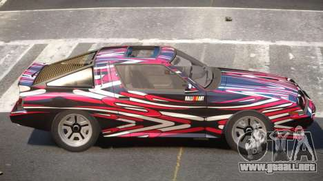 Mitsubishi Starion SR PJ5 para GTA 4