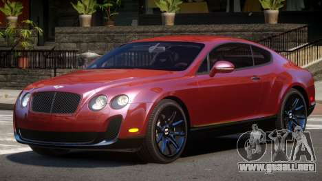 Bentley Continental RT para GTA 4