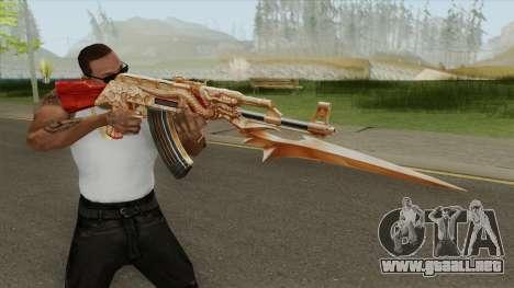 AK47 Dragon para GTA San Andreas