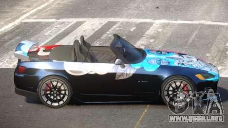 Honda S2000 D-Style PJ3 para GTA 4
