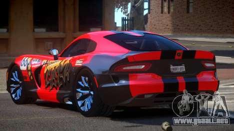 Dodge Viper SRT D-Tuned PJ1 para GTA 4