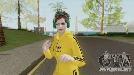 Random Female Skin V2 (Sport Gym) para GTA San Andreas